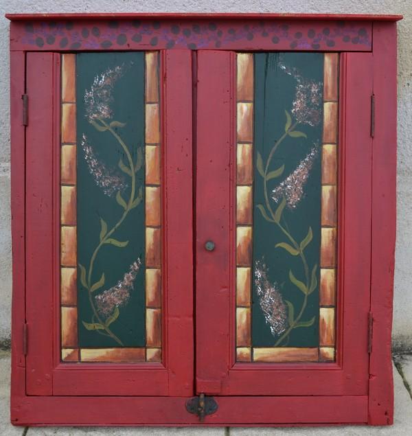 Porte de placard encastr pour encadrement tableau for Peinture porte et encadrement
